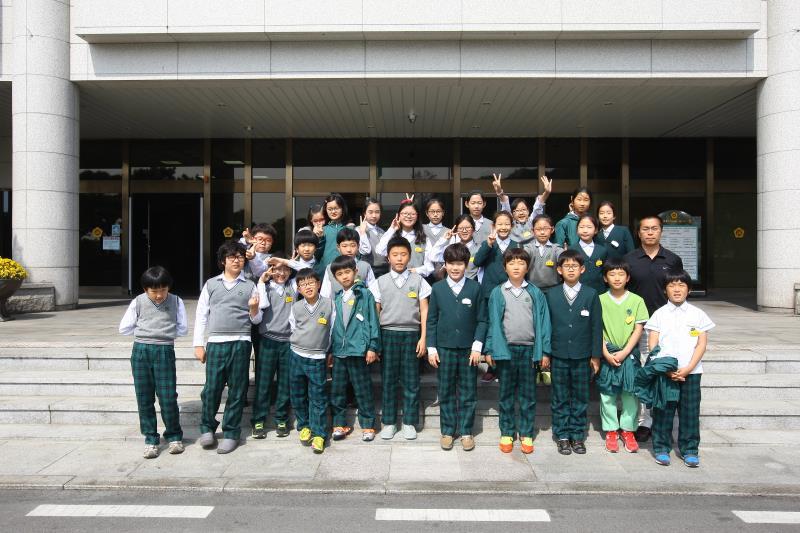 소하 초등학교 학생 의회 견학