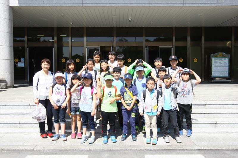 의왕시 왕곡초등학교 의회 견학