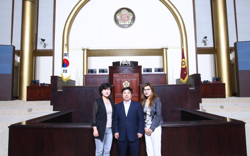 정대운 정보화 위원장 광명주민 의회방문