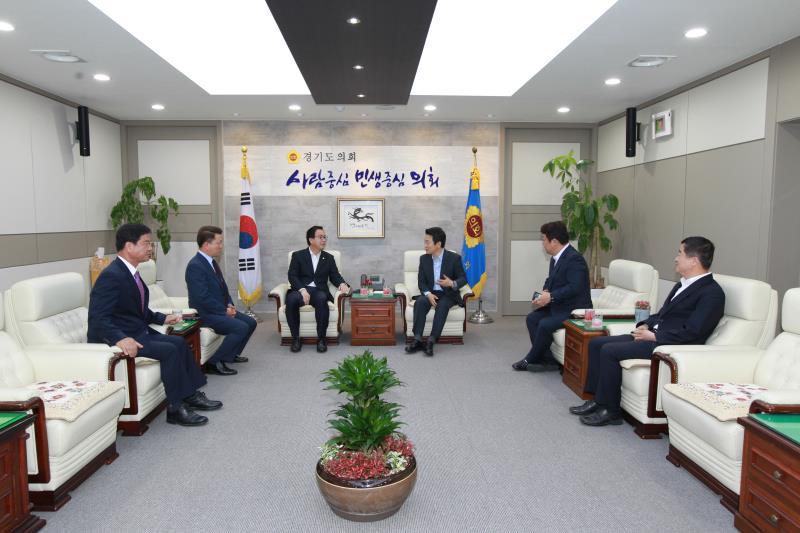 정기열의장 도지사 3당대표 T 타임