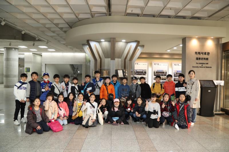 수원 선행초등학교 의회 견학