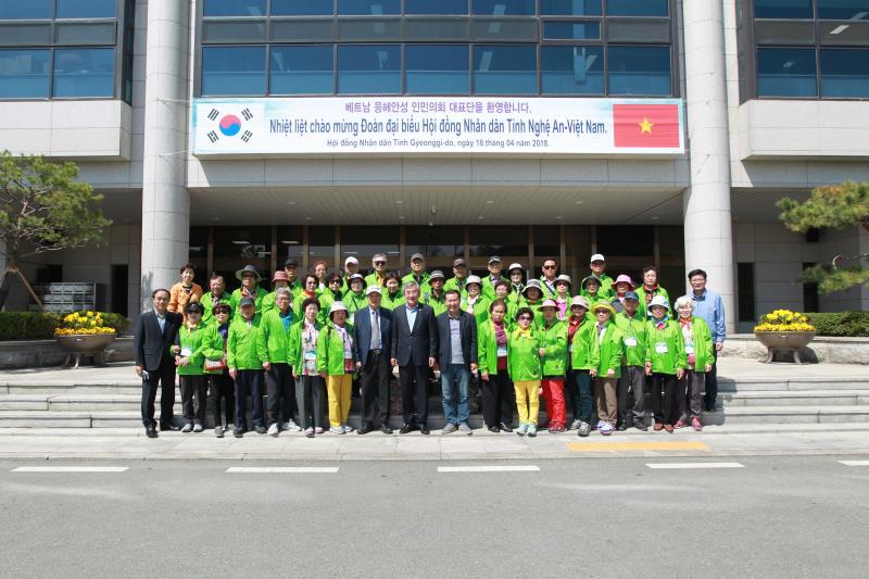 김포 노인대학 의회견학 방문