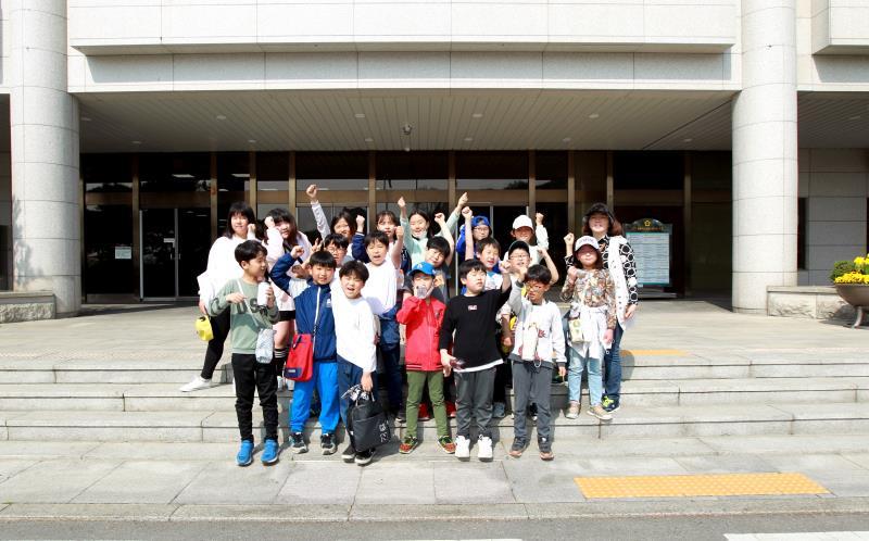 수원 남창초등학교 학생 의회 견학