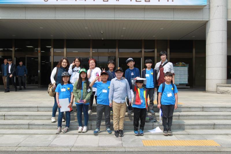 양평 조현초등학교 도의회 견학방문
