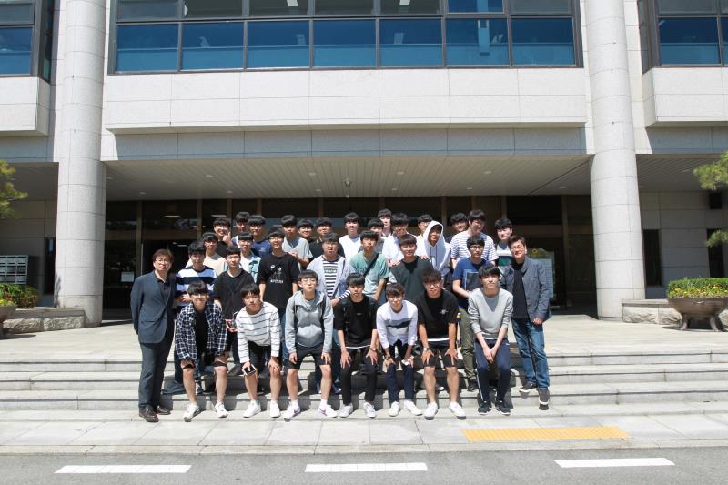 수원 동원고등학교 의회 견학
