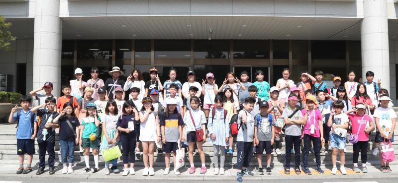 수원초등학교 학생 의회 견학