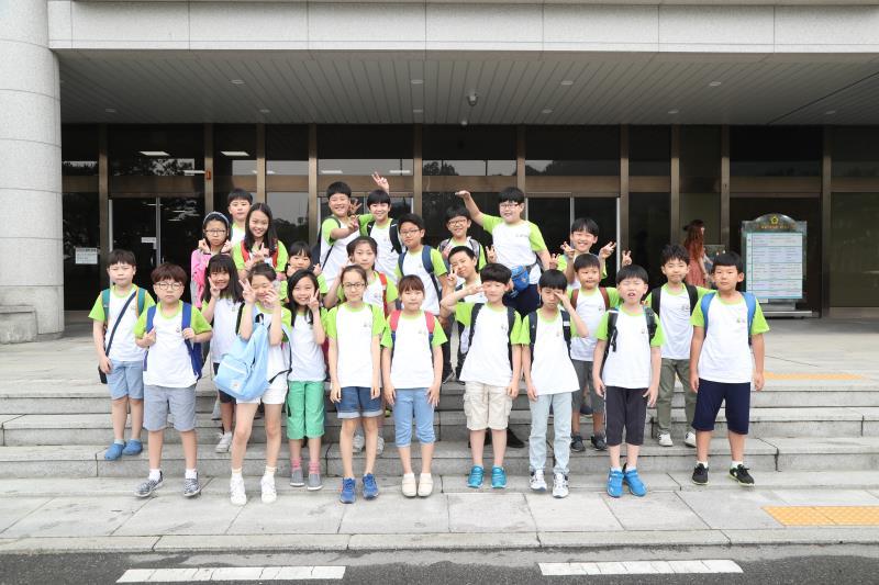 동탄 숲속초등학교 의회 견학