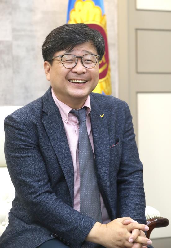 정의당 경기신문 합동 인터뷰