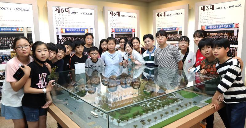 용인 신릉초등학교 의회 견학