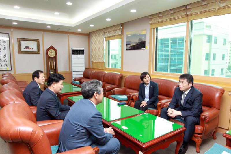제10대 신임 의장단 북부지역 유관기관 방문