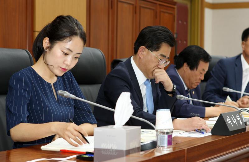 제329회 임시회 제1교육위원회 상임위회의
