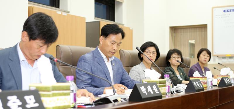제329회 임시회 제2교육위원회 상임위회의