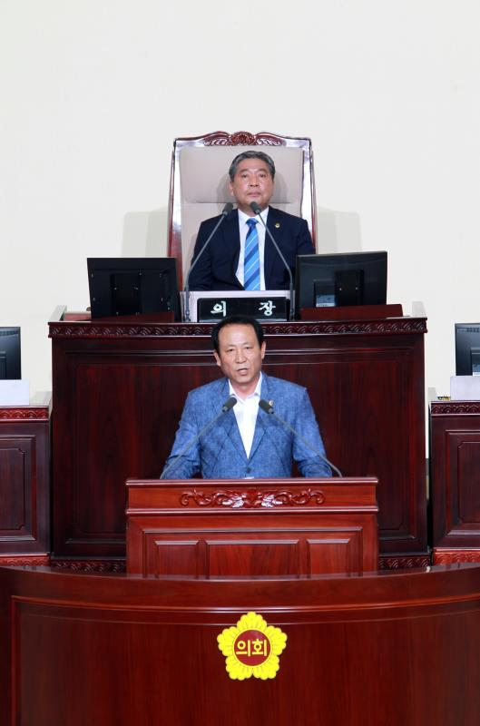 제330회 임시회 제3차 본회의 일괄질문