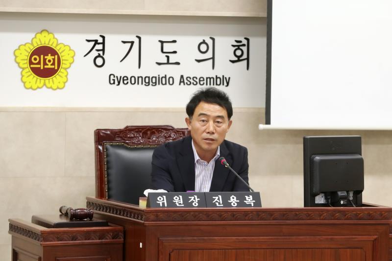 의회운영위원회 건설본부 업무보고 청취