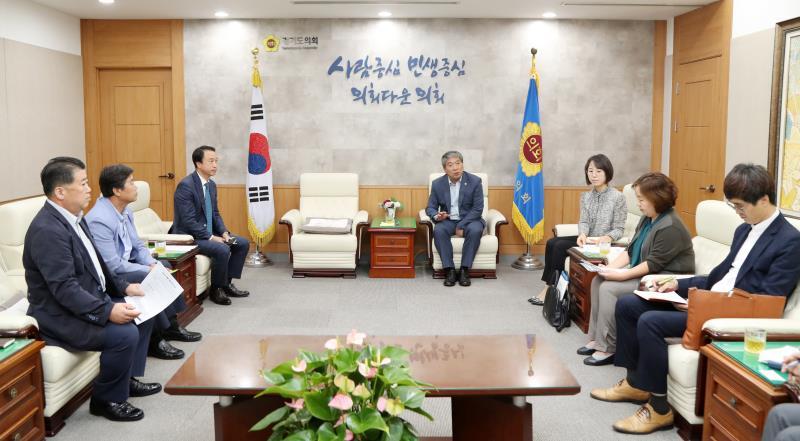 한국호텔관광실용전문학교 육광심 이사장 접견
