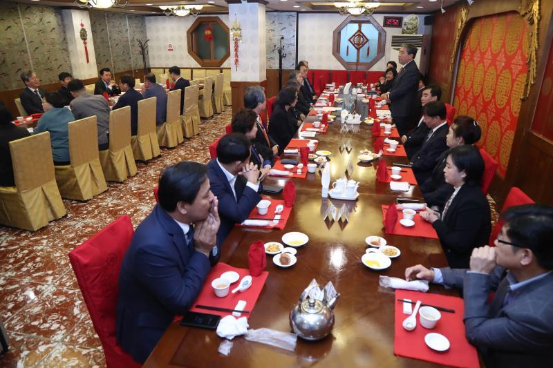 의장단,대표단,상임위원장,도교육청 협의회