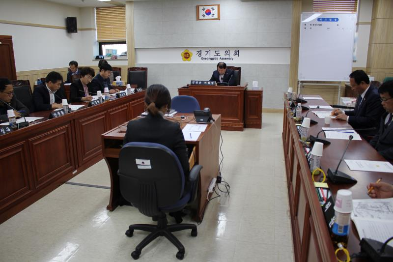 경기도의회 폐회중 경기도 테크노밸리 조성을 위한 운영 지원 특별위원회