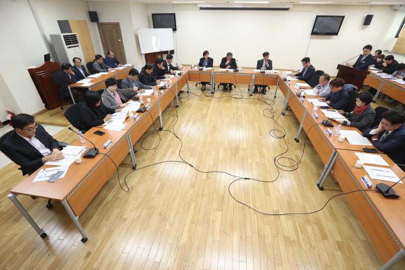 의장단,상임위원장,대표단 회의