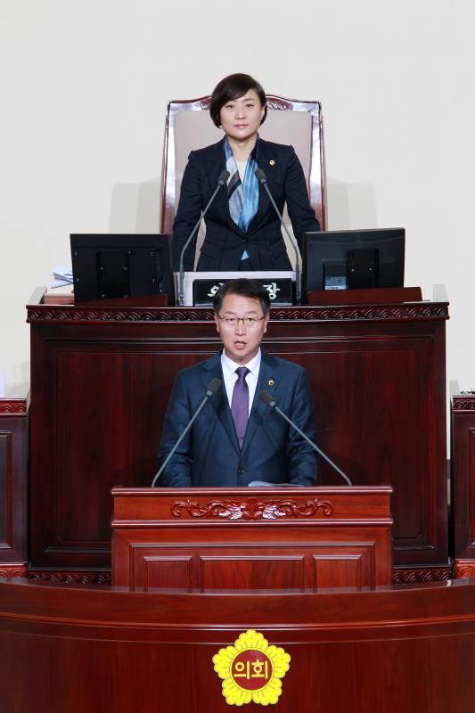 제332회 정례회 제3차 본회의 일괄질문