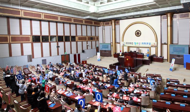 2018년 제28회 청소년 의회교실