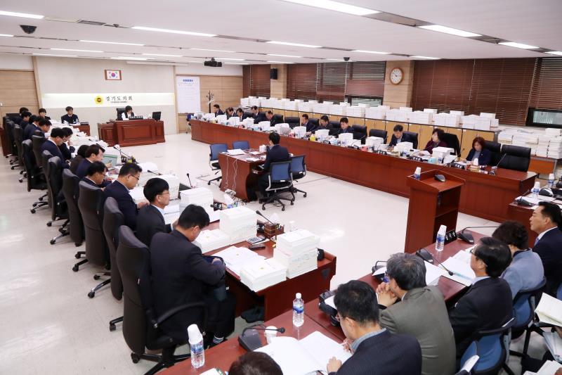 제332회 정례회 예산결산특별위원회 예산심의