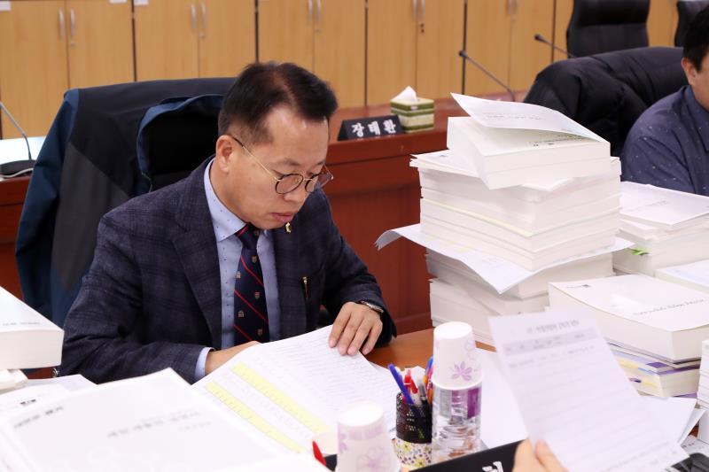 제332회 정례회 예산결산특별위원회 예산안조정소위원회