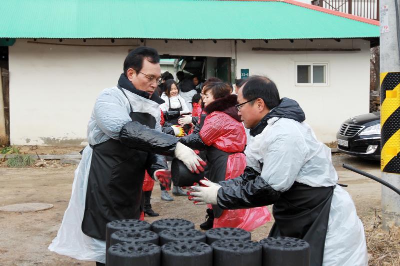 2018 경기도의회 사랑의 연탄나눔 봉사 (용인)