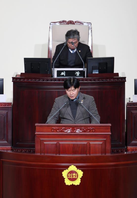 제332회 정례회 제5차 본회의 제안설명