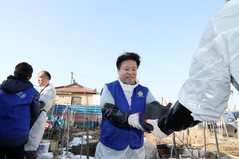 2018 경기도의회 사랑의 연탄나눔 봉사 (연천)
