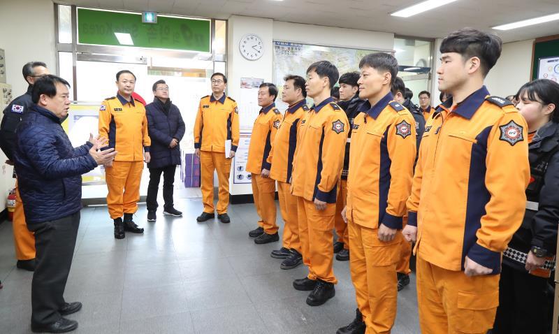 매산 119안전센터 격려 방문