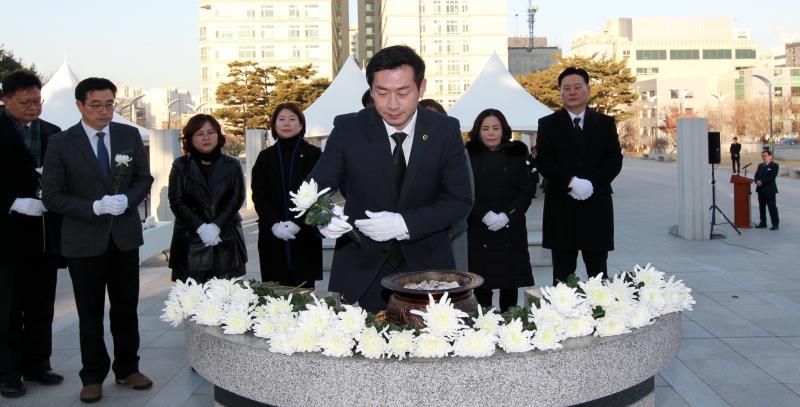 2019년 새해 현충탑 참배