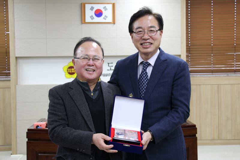 농정해양위원회 행정사무감사 우수위원 표창
