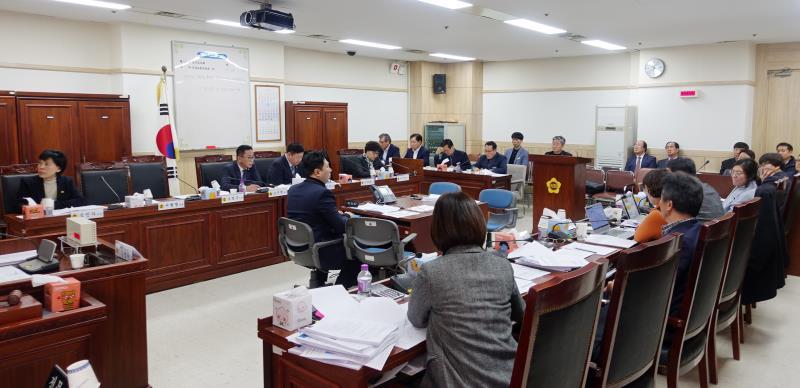 제2차 조사 경기도 공항버스 면허 전환 의혹 행정사무조사 특별위원회