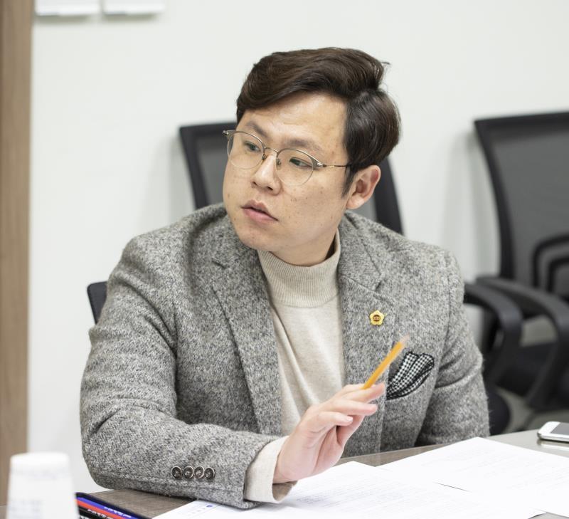 친환경 학교급식 조사특위 현장조사 및 간담회