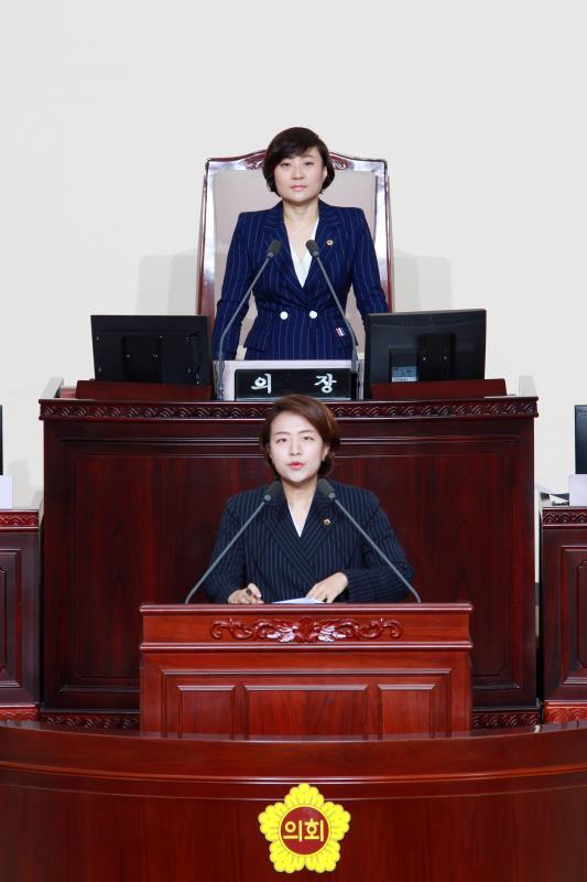 제334회 임시회 제3차 본회의 일괄질문
