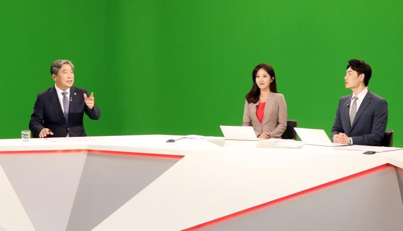송한준 의장 연합뉴스TV 인터뷰