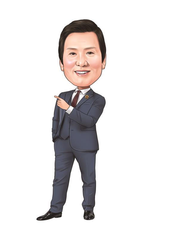 제10대 경기도 의원 캐리커처