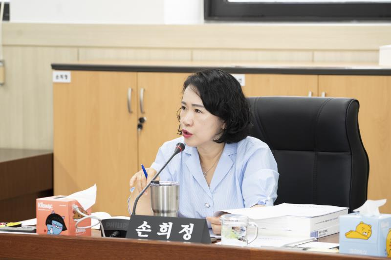 제338회 임시회 제1차 여성가족평생교육위원회