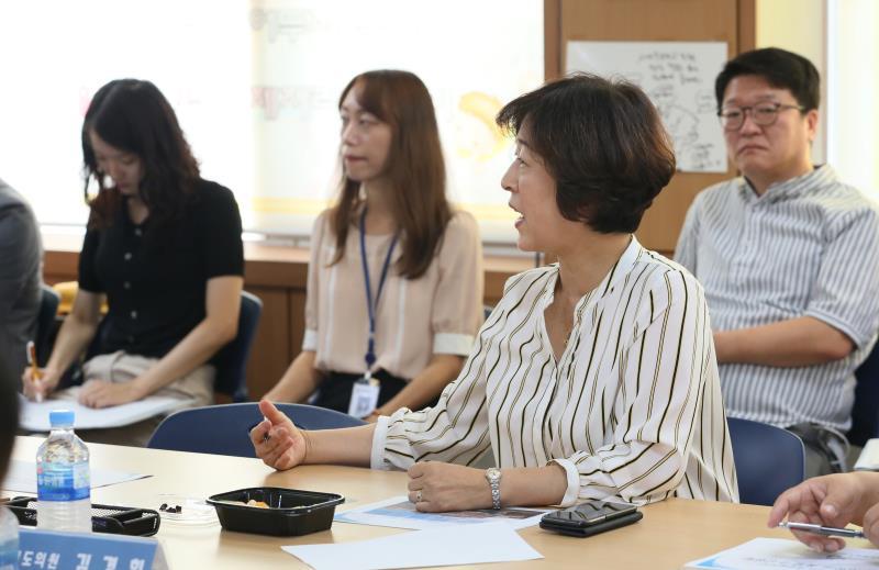 경기도의회 제2교육위원회 현장방문