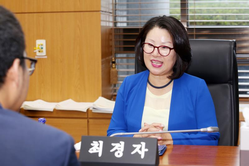 제1교육위원회 최경자 의원 인터뷰