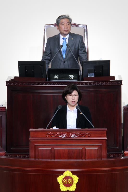 제340회 정례회 제3차 본회의 일괄질문