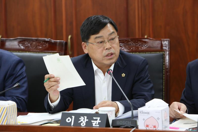 제340회 정례회 도시환경위원회 2019년도 행정사무감사