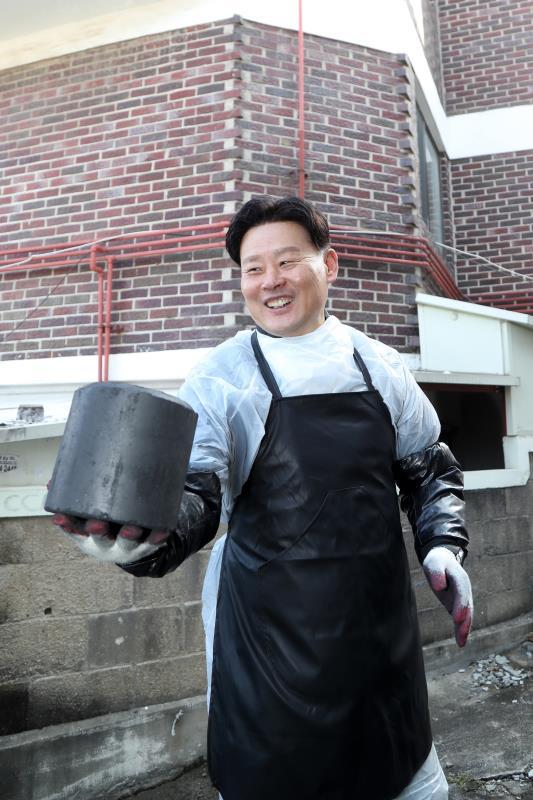 경기도의회 사랑의 연탄나눔 봉사 (수원)