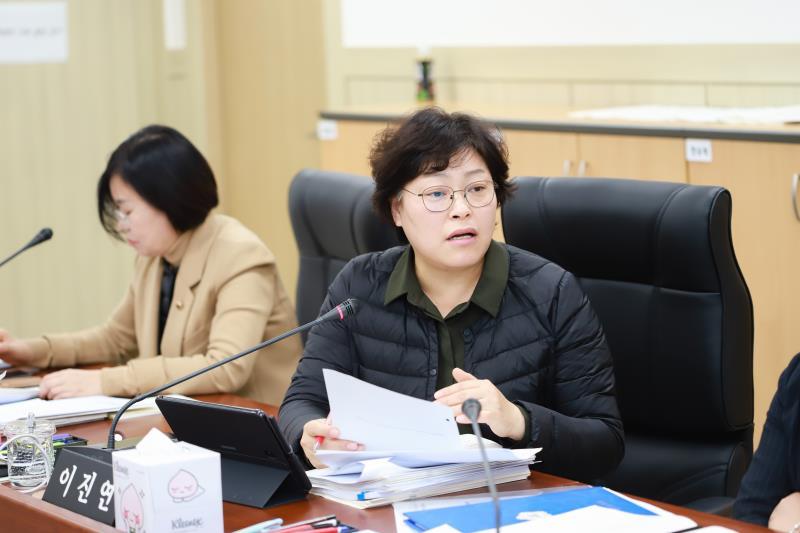 제340회 정례회 제4차 여성가족평생교육위원회