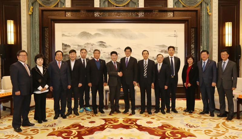 경기도의회 친선의원연맹 중국 장쑤성 방문(4박5일)
