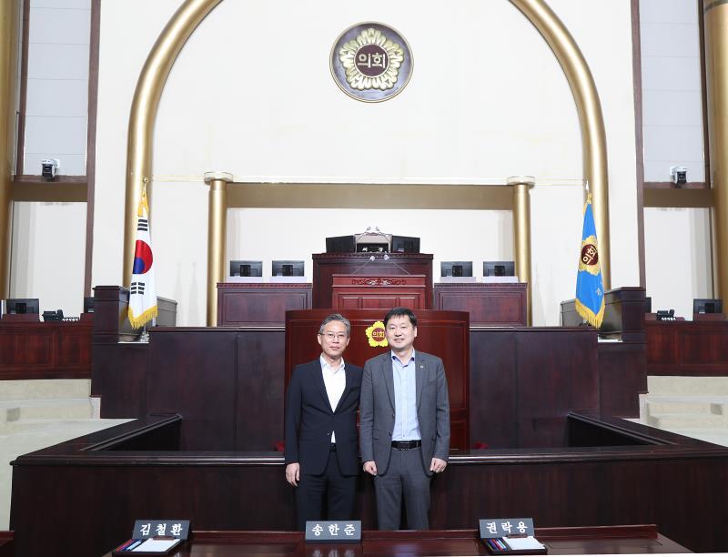 조창현 신세계사이먼대표이사 표창 친수식