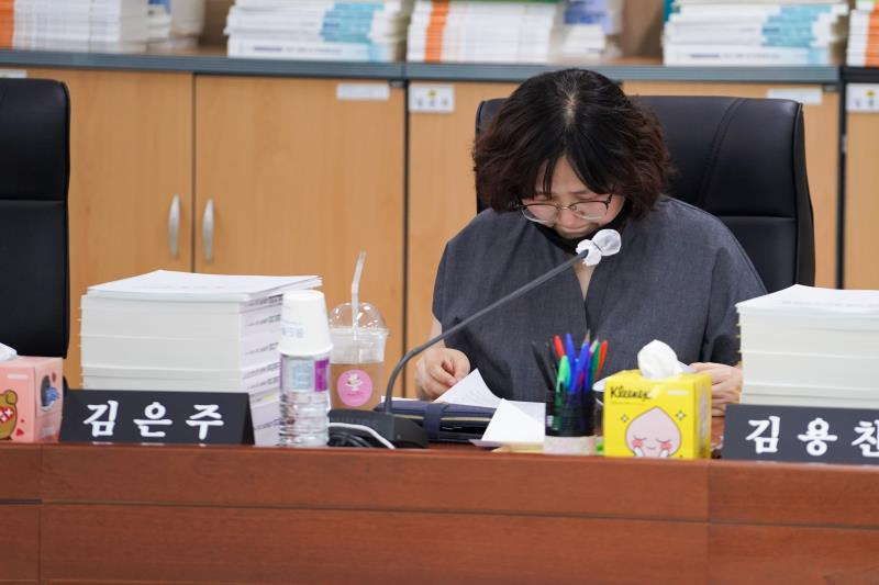 제344회 정례회 제3차 예산결산특별위원회