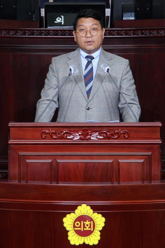 제344회 정례회 제2차 본회의 5분자유발언