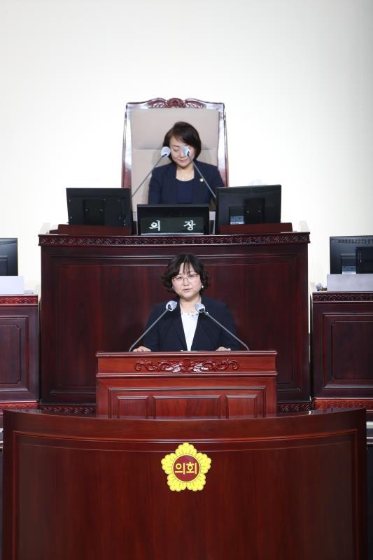 제344회 정례회 제3차 본회의 일괄질문