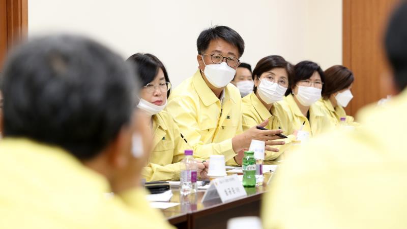 코로나19 감염병 대응 및 확산 방지를 위한 경기도의회 비상대책본부 7차 대책회의